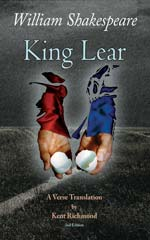 Cover of King Lear: A Verse Translation