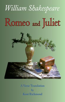 Romeo and Juliet: A Verse Translation book cover